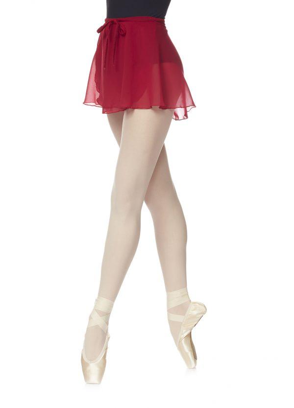 Jupette pour la Danse Classique. Jupette en mousseline en coupe portefeuille. Fluide et légère elle mettra en valeur vos mouvements.