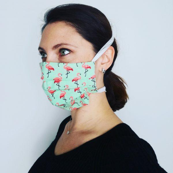 Masques Barrières contre Covid, en tissu réutilisable lavable économique, ne décolle pas les oreilles fait main france toulouse enfant adulte