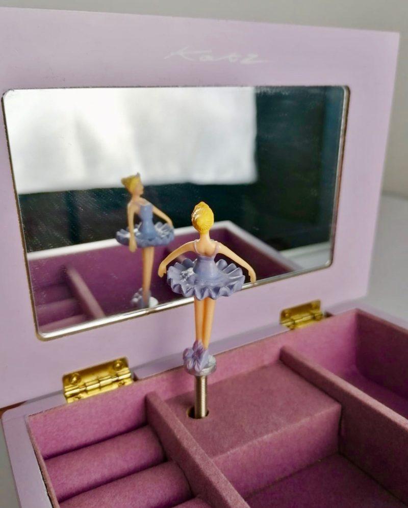 Boîte à Bijoux Violette