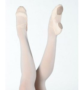 Ces Demi-pointes en toile stretch dans quatre directions. Elles sont bi-semelles nubuck. La semelle positionnée au niveau des coussinets métatarsiens est micro perforée. Cela permet une meilleur aération du pied et un confort optimisé. Elles ont un biais élastiqué pour un meilleur maintient Les élastiques cousus en croix permettent de garder le chausson bien en place sur le coup de pied. Elles sont confortable et résistante. Ces demi-pointes ont un excellent rapport qualité/prix. Grace à sa structure et son élasticité, elles mettront votre coup de pied en avant et permettront un meilleur travail du pied! Ses demi-pointes se mouleront à la forme de votre pied avec l'effet de la chaleur.