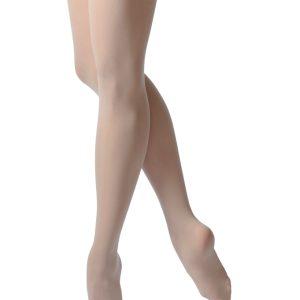 C80 collant avec pied merletCes Collants de danse avec pied, possèdent une ceinture plate invisible. Ces collants sont très résistant et ont une longue longévité. Ils sont très doux et confortables à porter! C'est un produit essentiel dans la garde robe d'une danseuse.