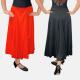 Cette Jupe longue est parfaite pour la danse de salon (valse, tango, etc...), flamenco ou danse de caractère. La jupe est fabriqué de sorte à avoir un beau volume lorsqu'elle est en mouvement. Fluide et légère elle mettra en valeur vos mouvements.